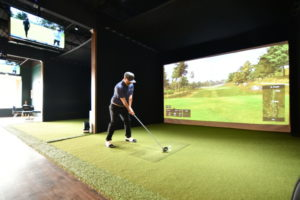 Playing Golf at 1899 Indoor Golf
