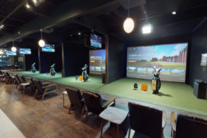 Trackman Simulators at 1899 Indoor Golf